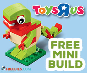 Free LEGO Mini Model Build Event – Sept. 5 & 6