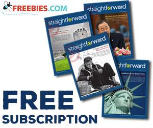 Free Subscription To Straightforward Magazine