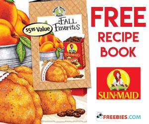 Free Sun-Maid & Gooseberry Patch Fall Recipes