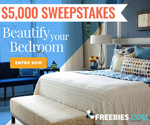Beautify Your Bedroom – $5,000 Giveaway