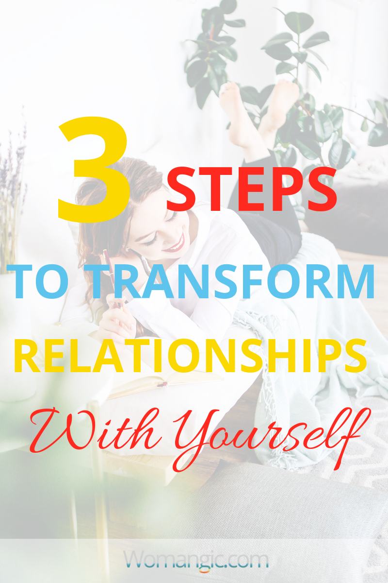 Don't Feel Comfortable In Your Own Skin? How To Change Relationships With Yourself