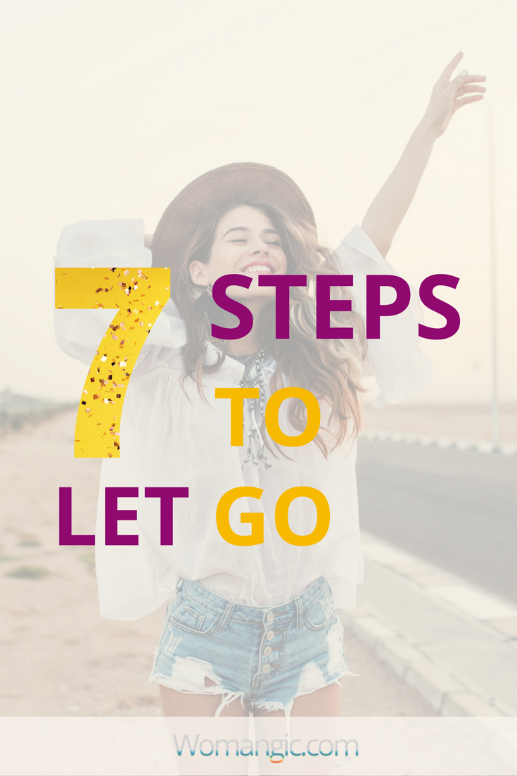 7 secrets of Letting Go (Chakras Guide)