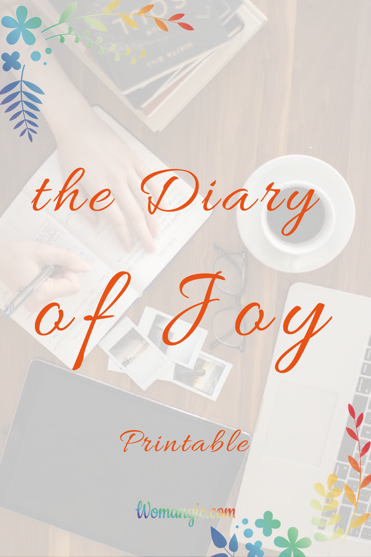 Diary of joy freebi