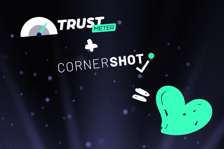screenshot of trustmeter tool, computer screen