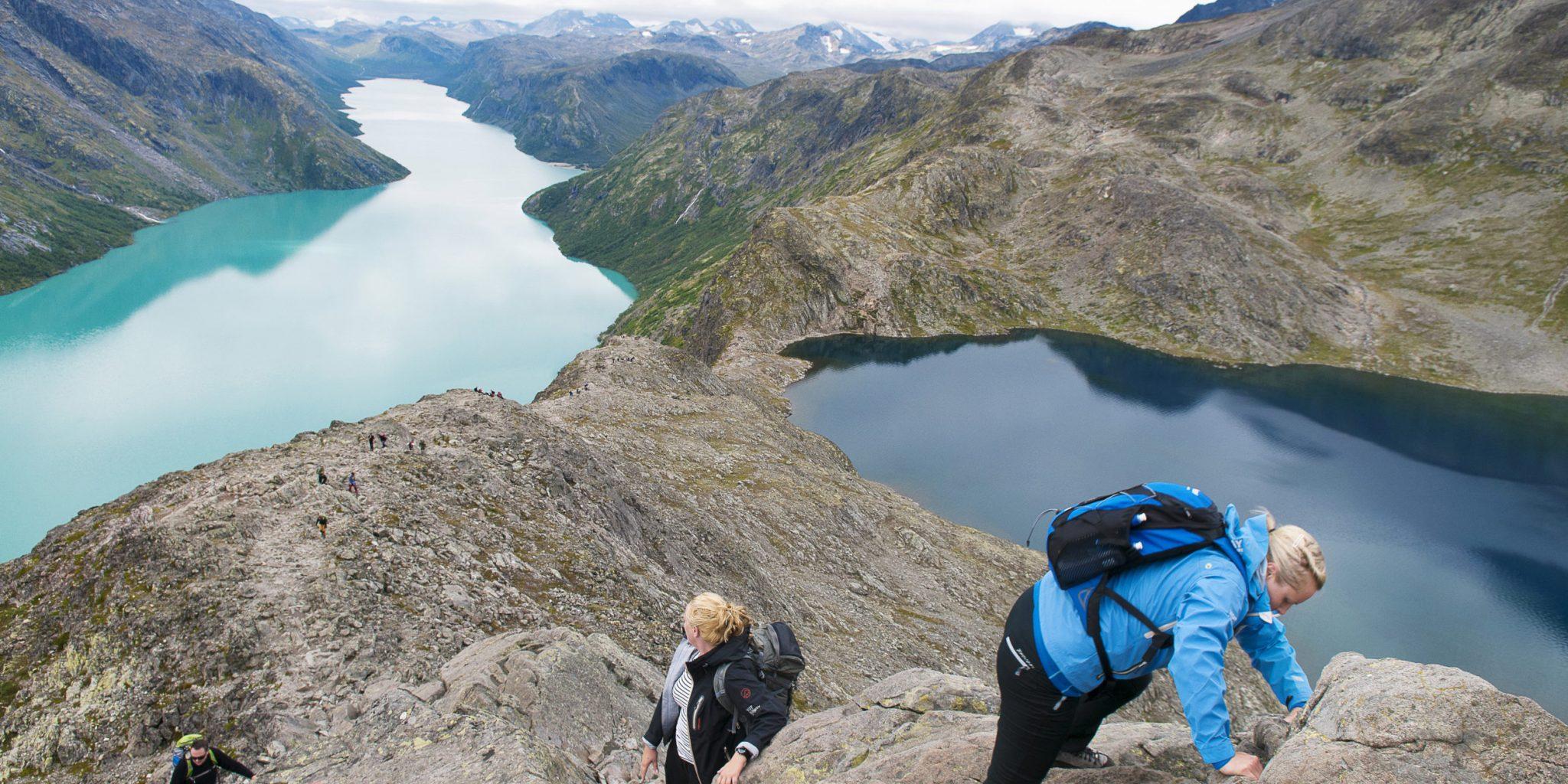 Besseggen ©Visit Norway, Chris Arnesen