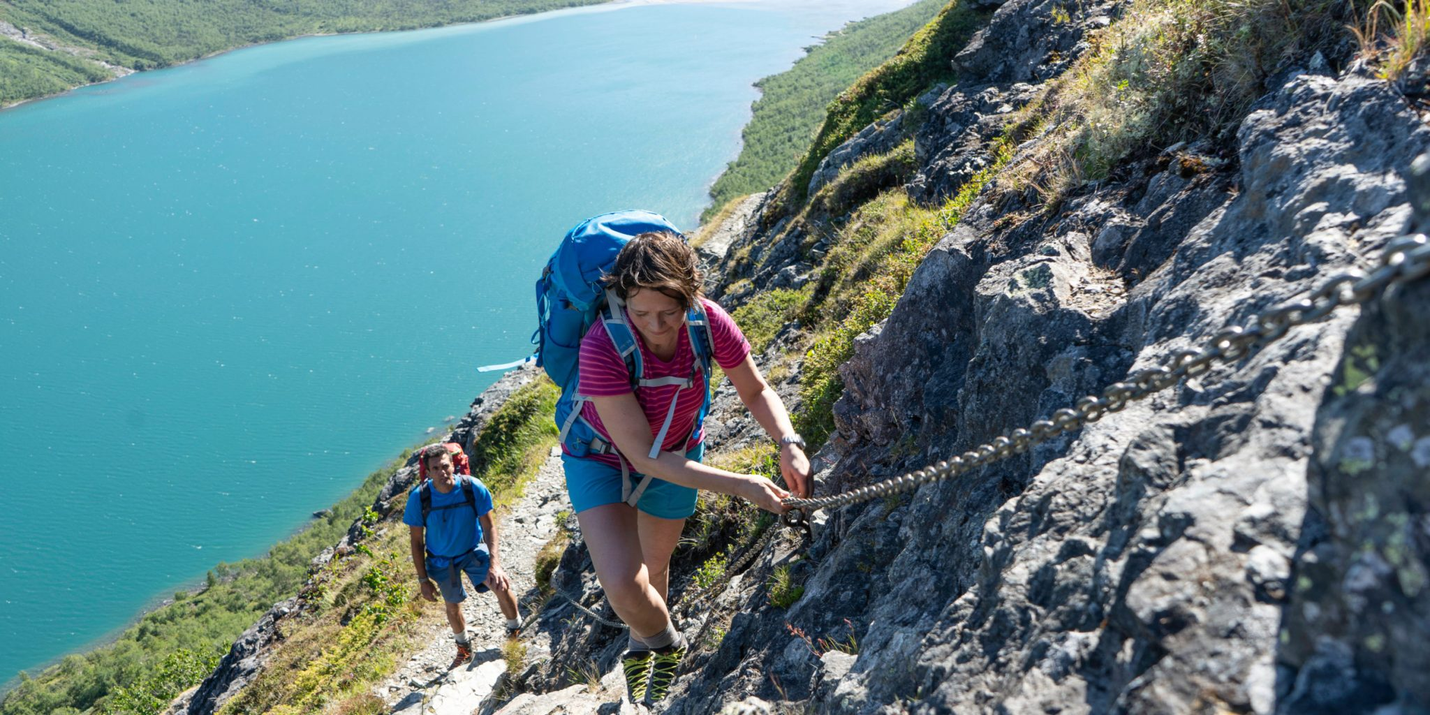 Climbing the Bukkelægret Ridge