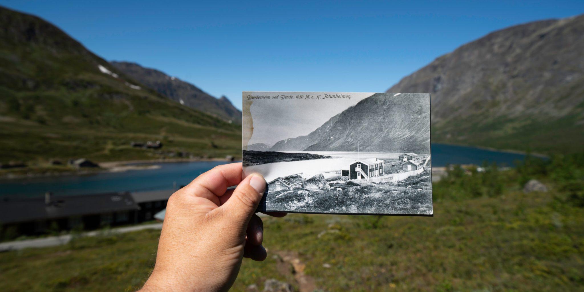 Historical Route Jotunheimen ©Yngve Ask