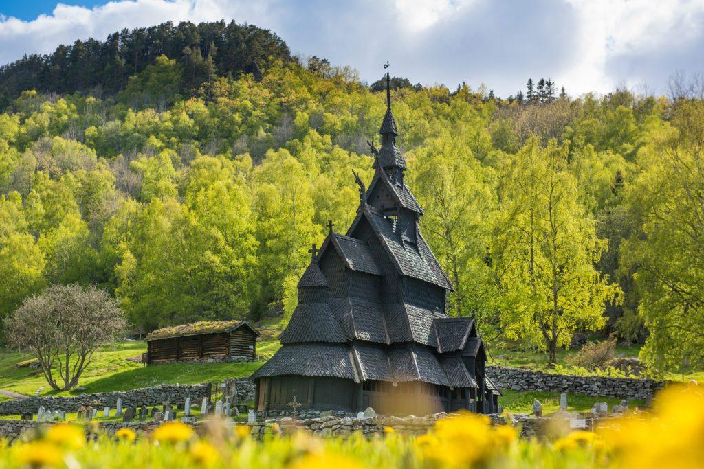 Borgund Stave Church. ©Sverre Hjørnevik
