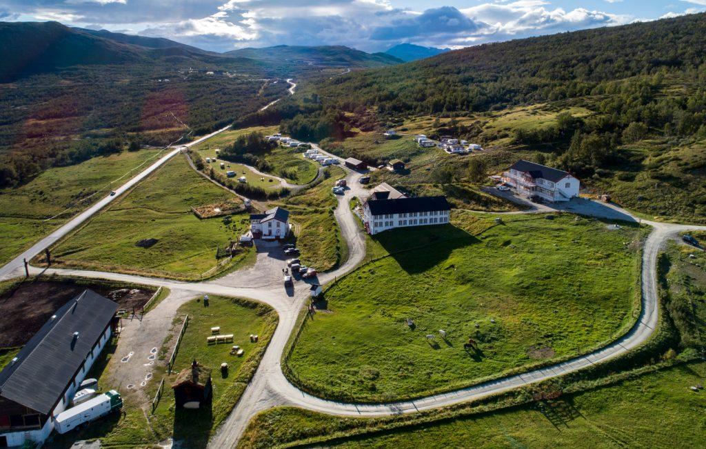 Hjerkinn Fjellstue Tour de Dovre roundtrip. Provided by Dovrefjell Adventures.