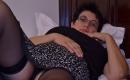 Oma Porno vom Stiefbruder genommen