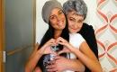 Oma Sex mit brünetter reife Fotze