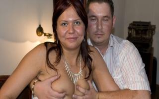 Vicky von zwei Männern gefickt