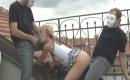 Geile Porno Actriz liebt Outdoor Sex mit spritzenden Pimmel