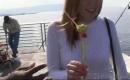 deutsche Sexvideo - Sexy Granny beim Sperma in der Freße