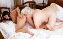 Deutsches Pornovideo - Geschmackvolles XXX Video mit blonder Granny