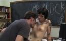 Porno Clip Sexy Teenager beim Sperma schlucken