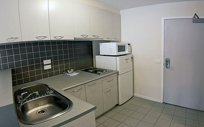 Melbourne Serviced Apartment Kitchen