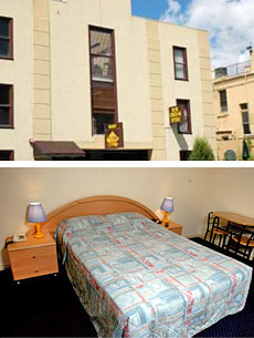 Abbotsford Budget Hotel Accommodation Rooms
