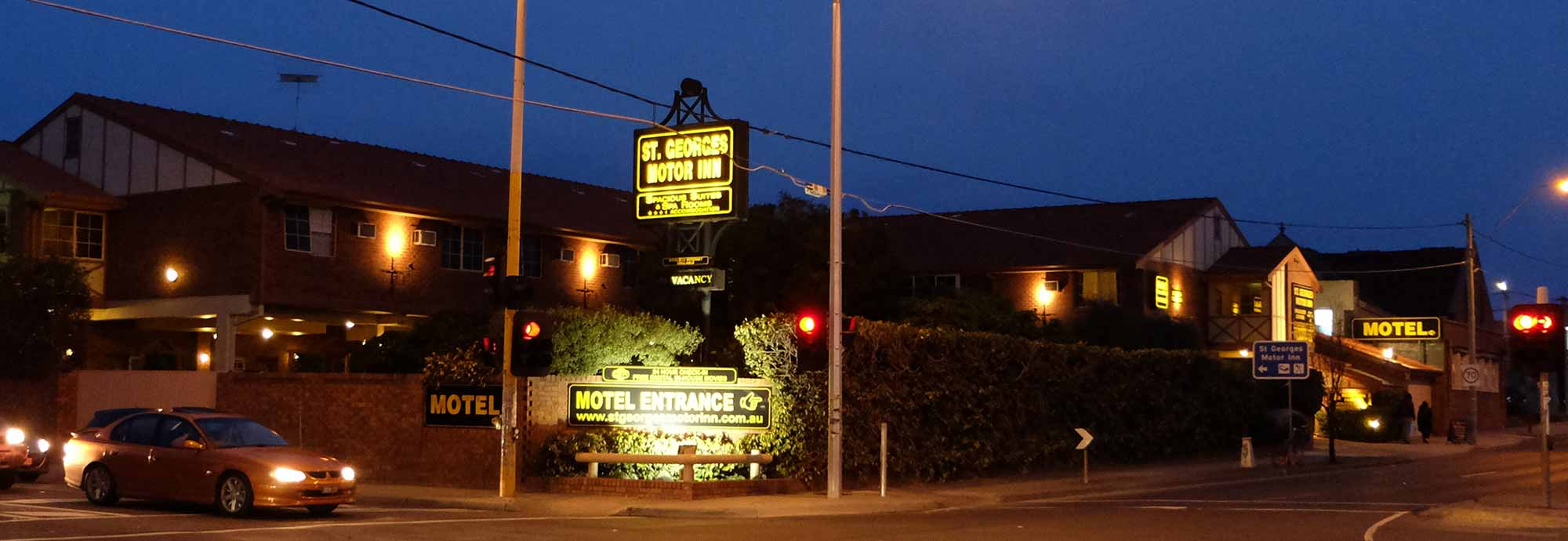 St georges motor inn melbourne northern suburb accommodation for St georges motor inn