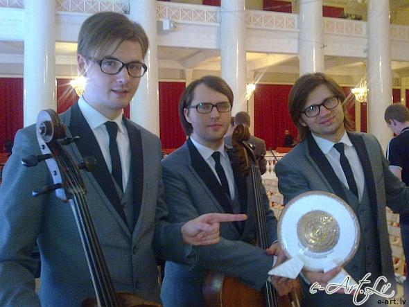 Melo-M ar balvu no Sanktpēterburgas festivāla Terem Crossover Competition