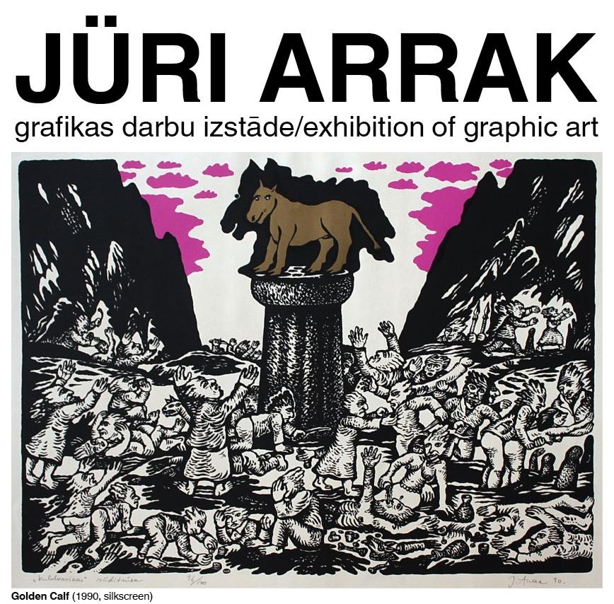 Juri Arrak galerijā Bastejs