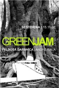 Šodien sākas Starptautiskā radošā darbnīca GREEN JAM
