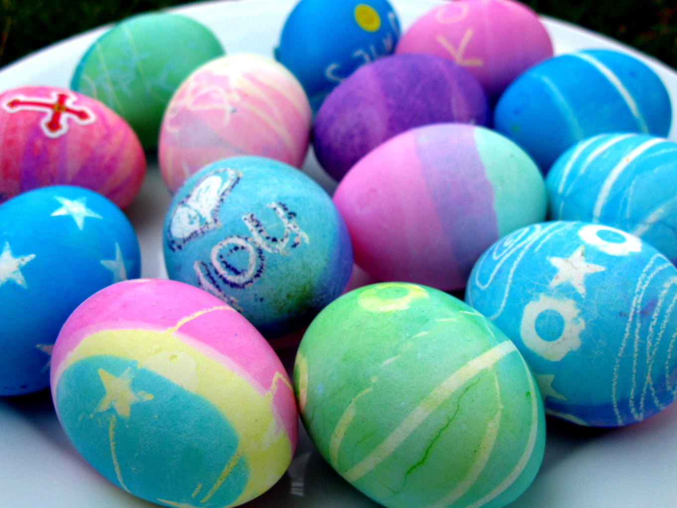 Lieldienu olas. Lieldienas.