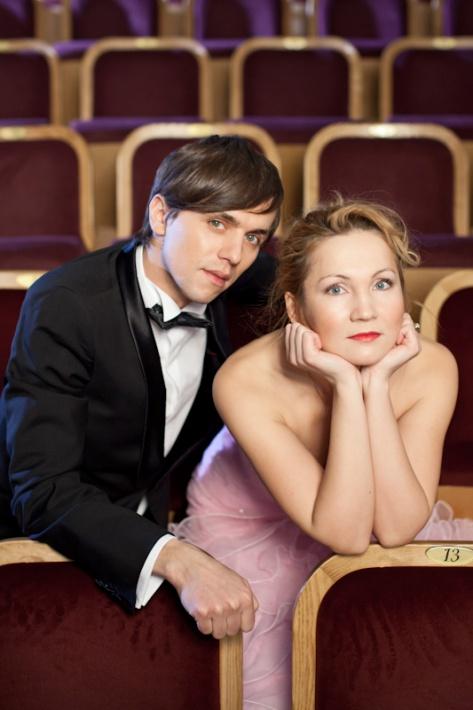 Jelgavā: Veronika Plotņikova un Marts Kristiāns Kalniņš: Raimonda Paula dueti