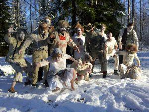 Somu mākslinieku grupas T.E.H.D.A.S performanču darbnīca Rīgā