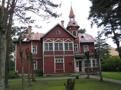 Jūrmalas Kultūras centrs, Mākslinieku nams