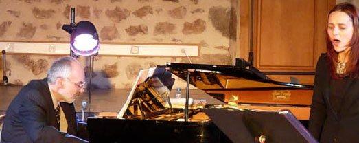 Anda Martin un pianists Andrejs Bubinduss