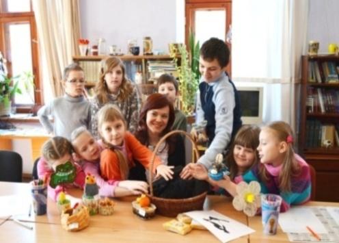 Lieldienas – četru valstu kopīgā tradīcija – pavasara skola bērniem Daugavpilī