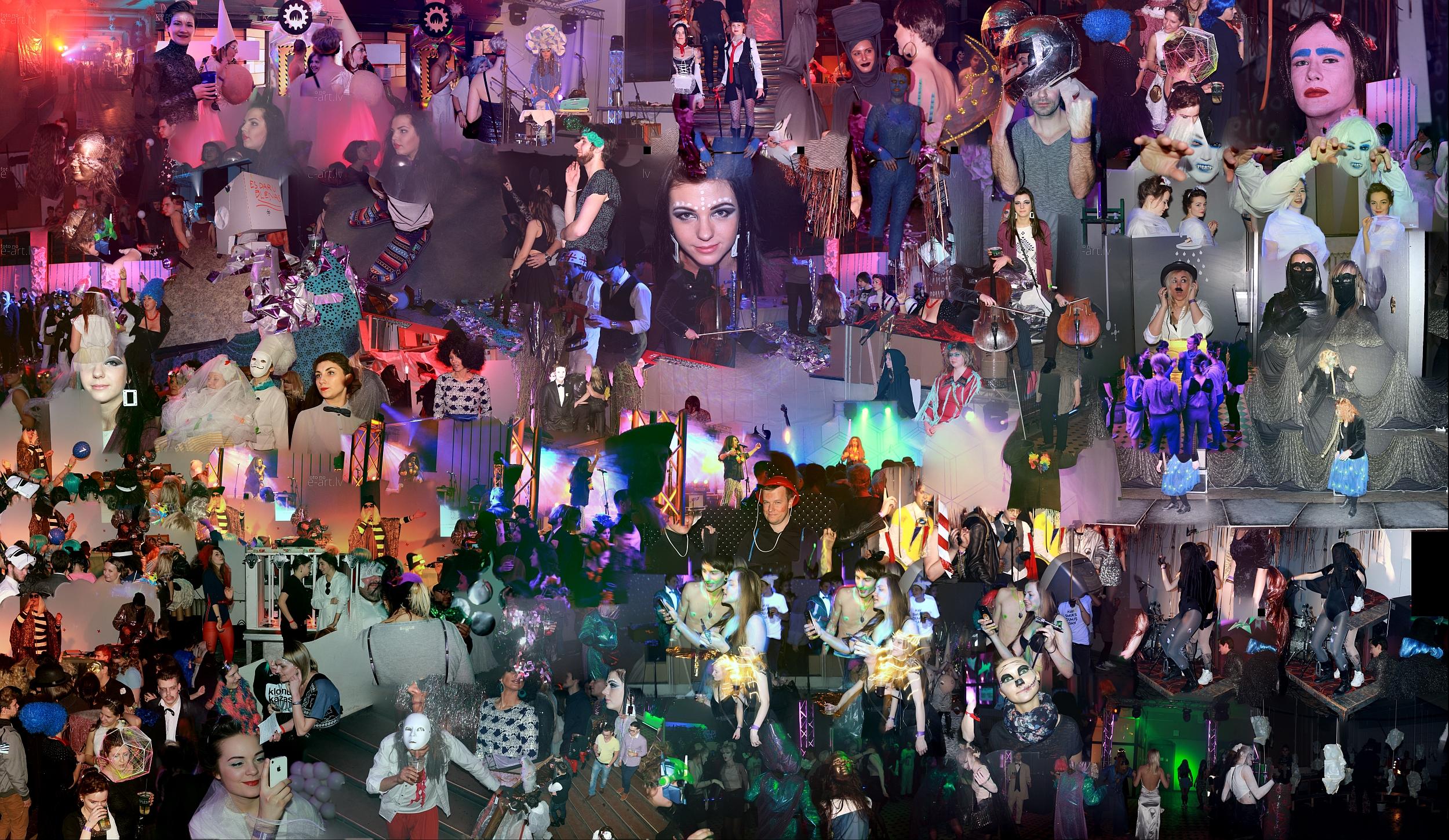 LMA karnevāls 2015 – Klonu kāzas. Megaskats