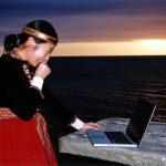 Ručs un Norie. Jūra un dators.