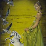Privātā telpa – Agates Apkalnes gleznu cikls