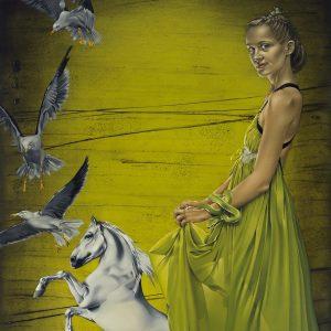 Agates Apkalnes gleznu cikls Privātā telpa