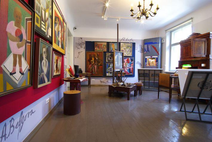 Radošās darbnīcas Romana Sutas un Aleksandras Beļcovas muzejā. 2015. Foto: Elvija Pohomova