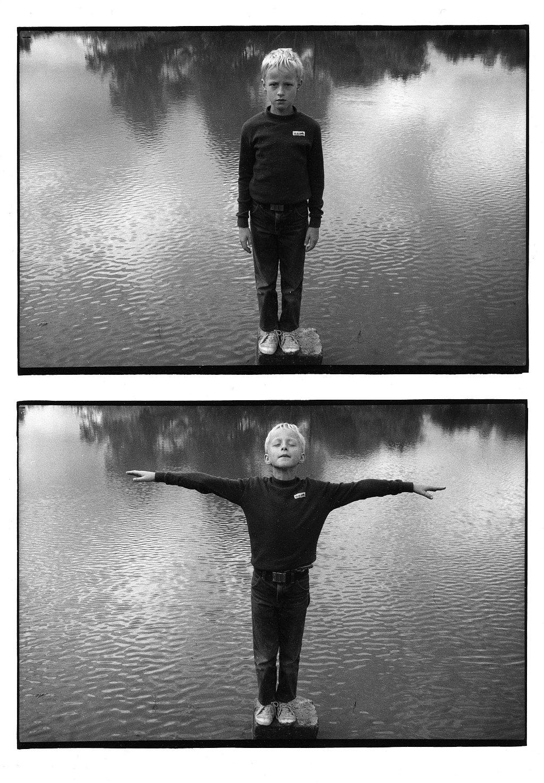 fotogrāfa Andreja Granta izstāde Dubultportreti