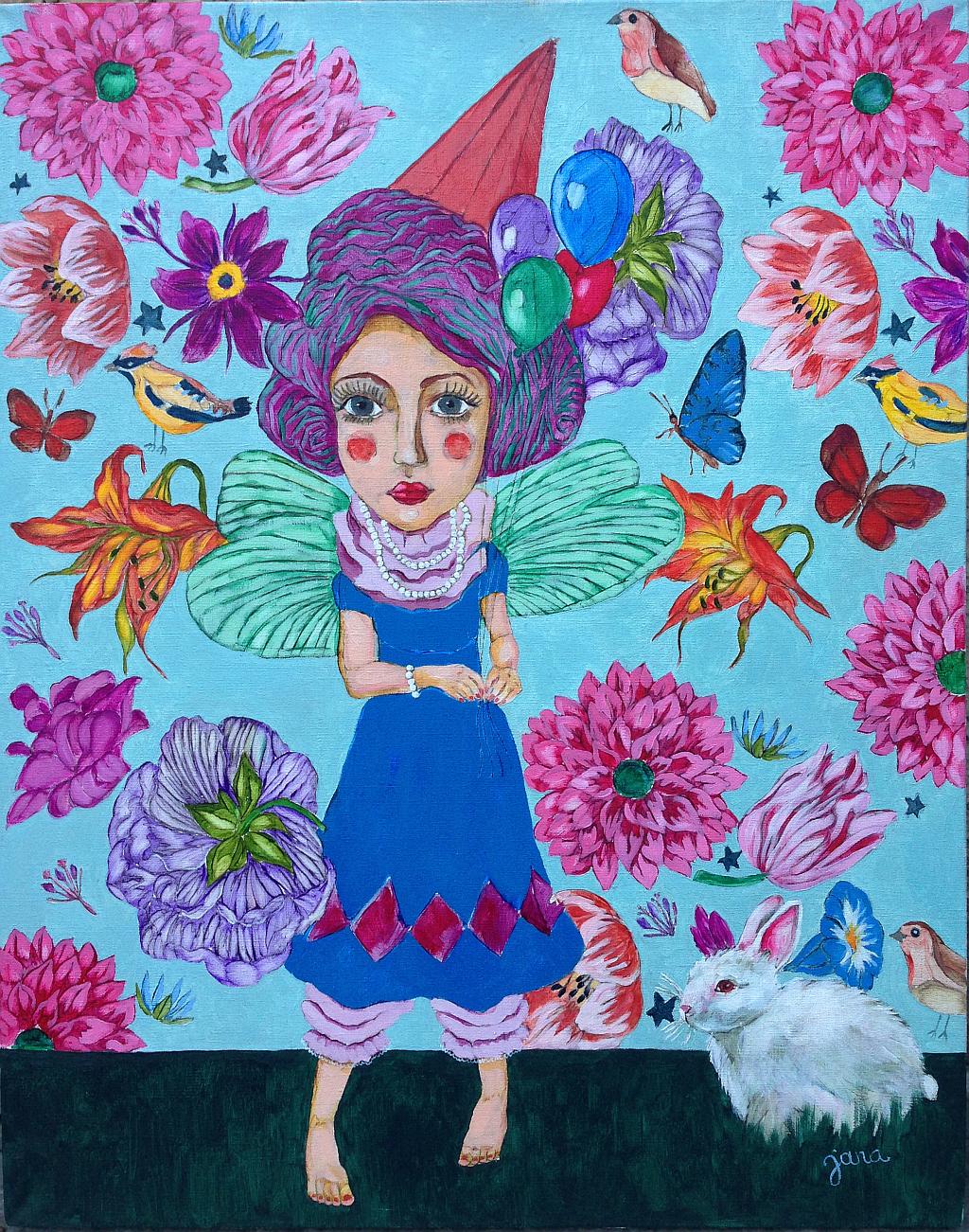 Janas Nesterovičas gleznu izstāde Wonderland