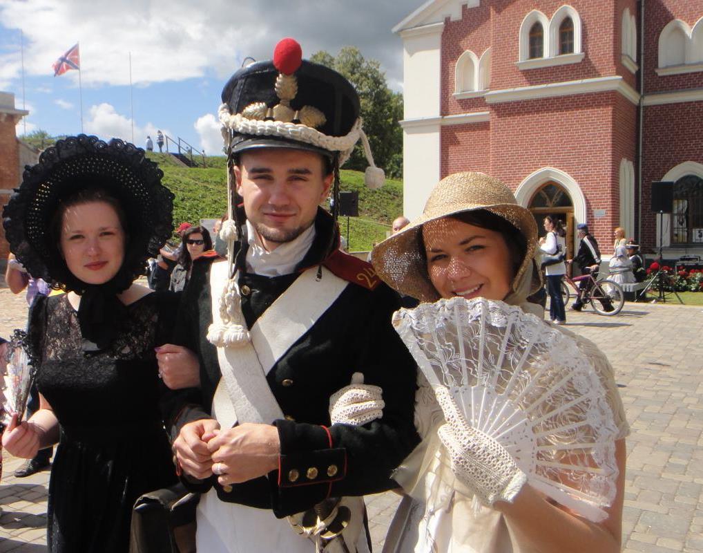 vestures rekonstrukcijas klubu festivals. Daugavpils