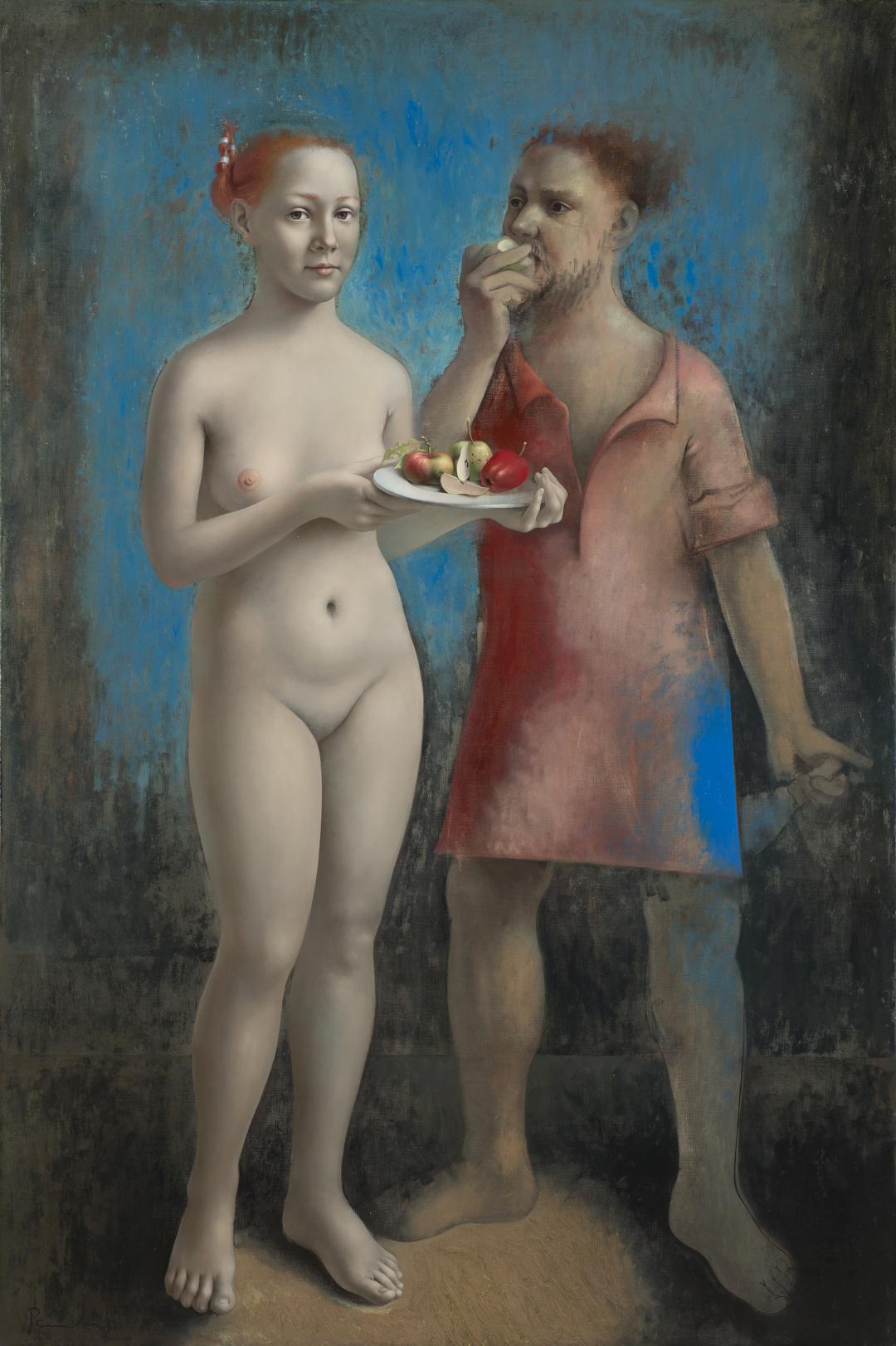 Paulis Postažs: Mākslinieks un mūza