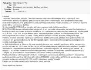 Neaktīvajiem saimnieciskās darbības veicējiem būs jāmaksā 50 EUR, ja nemainīs statusu