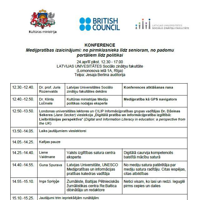 Medijpratības konference LU