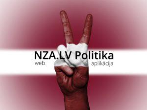 NZA.LV Politika (Web Aplikācija)