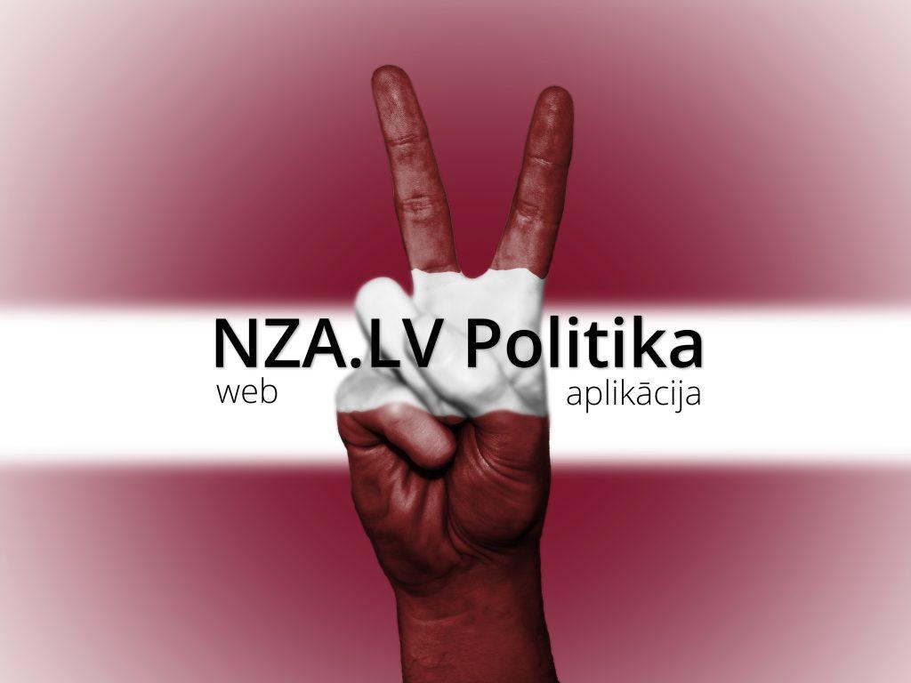 NZA.LV Politika. Web aplikācija.