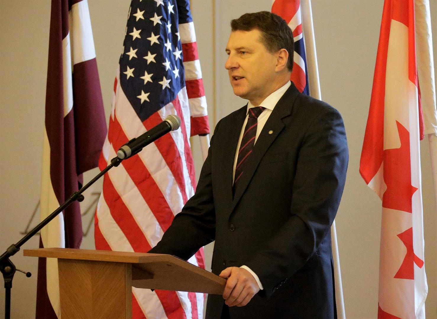 Uzruna latviešu skautisma simtgades svinībās. Autors: Toms Kalniņš, Latvijas Valsts prezidenta kanceleja
