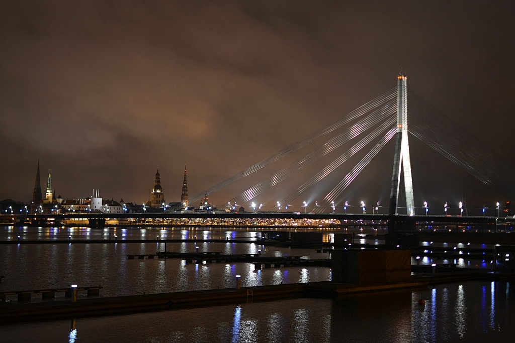 Valentine's day spot in Riga, Latvia (Timelapse video)