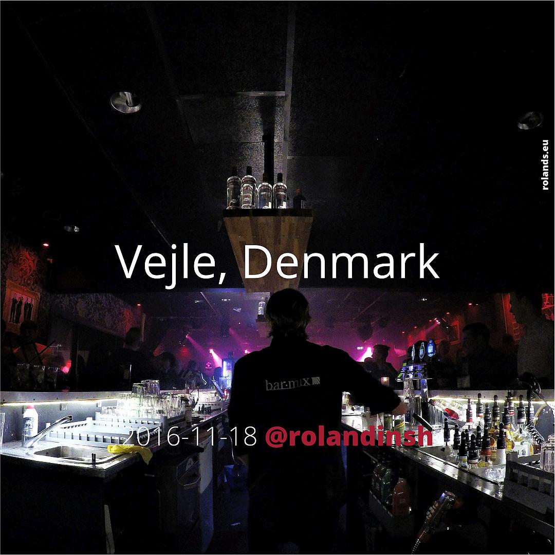 Bartender at BarMix Vejle.