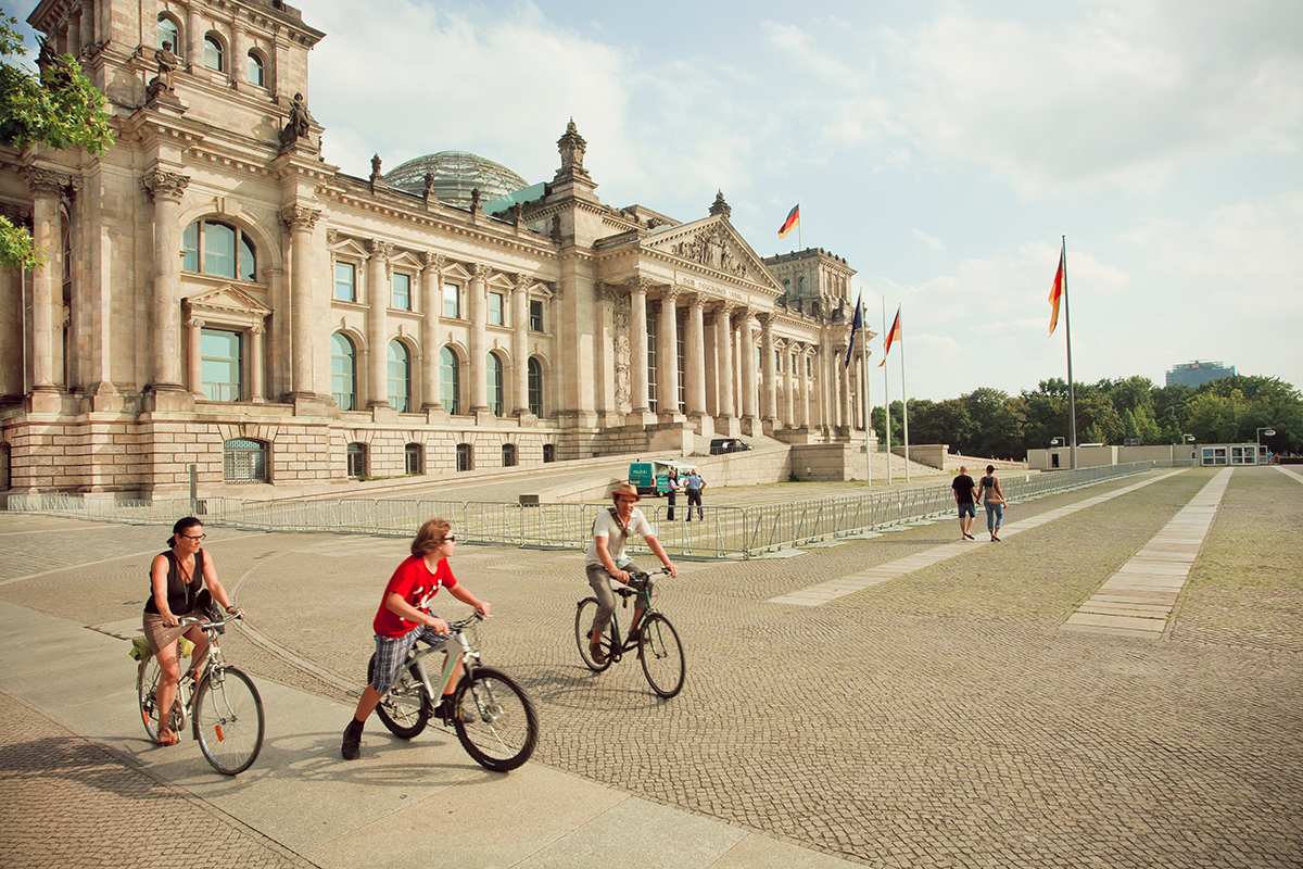 5 Affordable Places To Cycle. Berlin, Germany.
