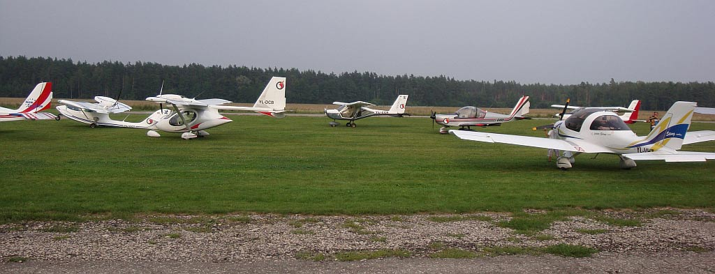Flying next to the pilot. Entertainmets in Ādaži airfield (Latvia)